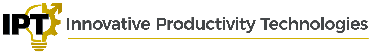 Innovative Productivity Technologies Logo Banner